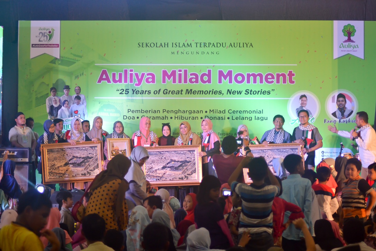 AULIYA MILAD MOMENT : 25 YEARS OF GREAT MEMORIES, NEW STORIES